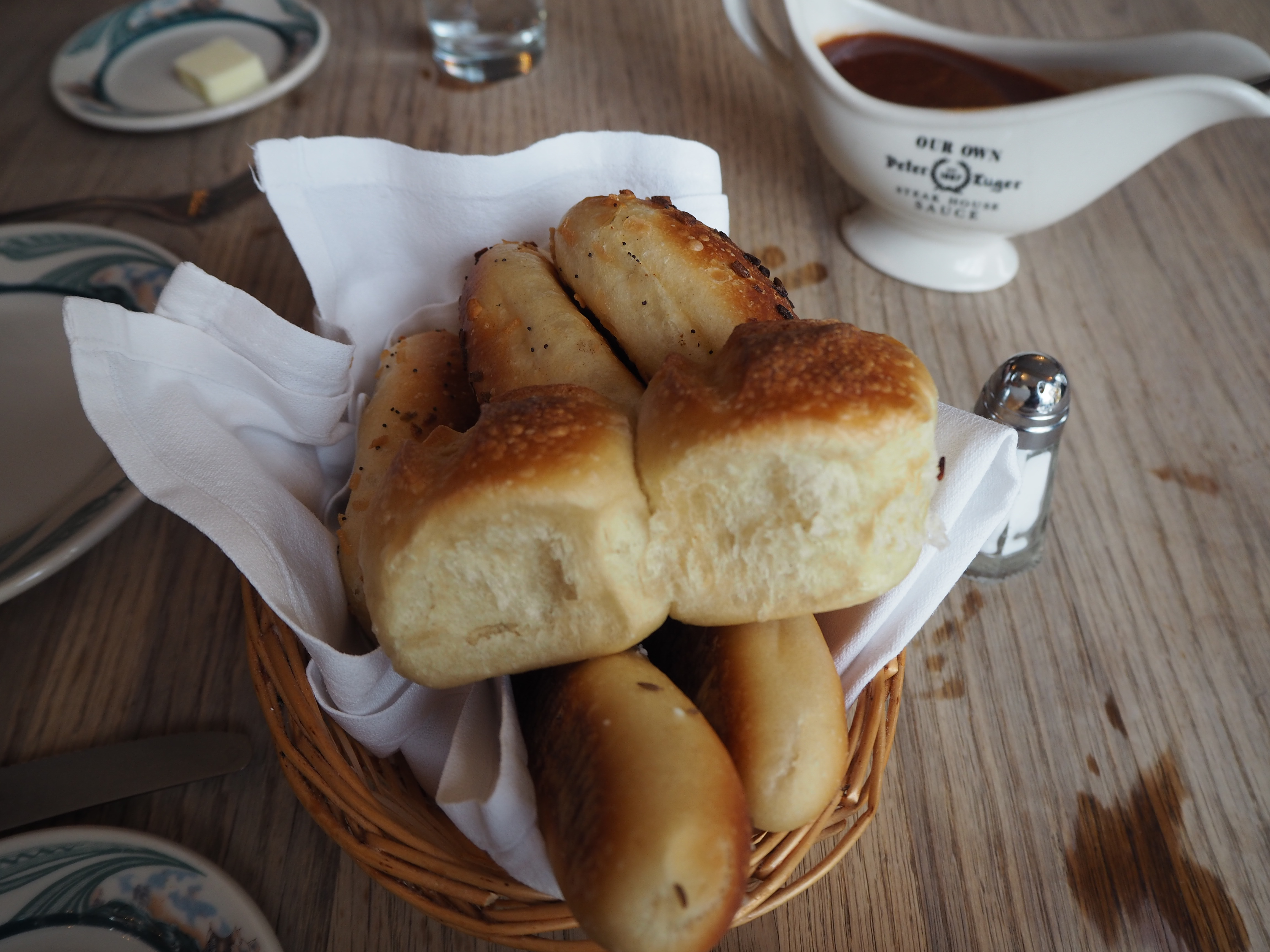 ピータールーガーのパン