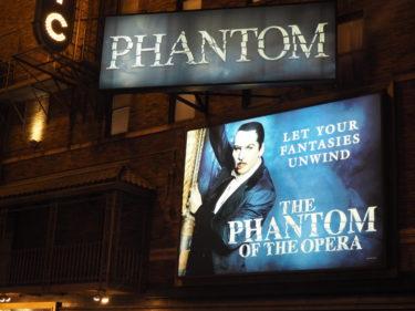 NYブロードウェイでミュージカル観劇!生のオペラ座の怪人は凄かった(ネタばれ注意)
