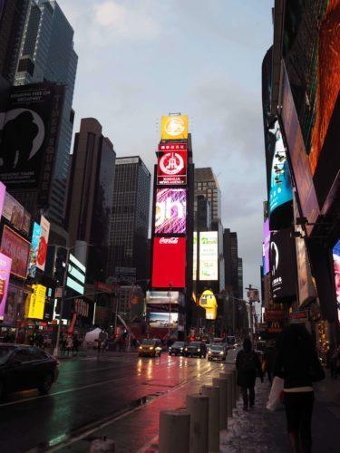 タイムズスクエアから徒歩5分でアクセス抜群!ニューヨークで1人7000円のお手頃ビジネスホテルに泊まった感想と口コミ