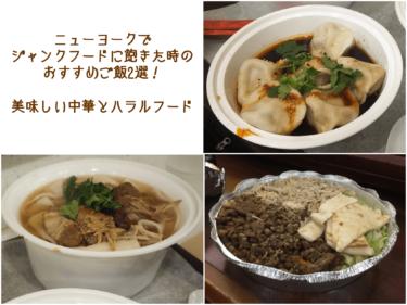 ニューヨークでジャンクフードに飽きた時のおすすめご飯2選!美味しい中華とハラルフード