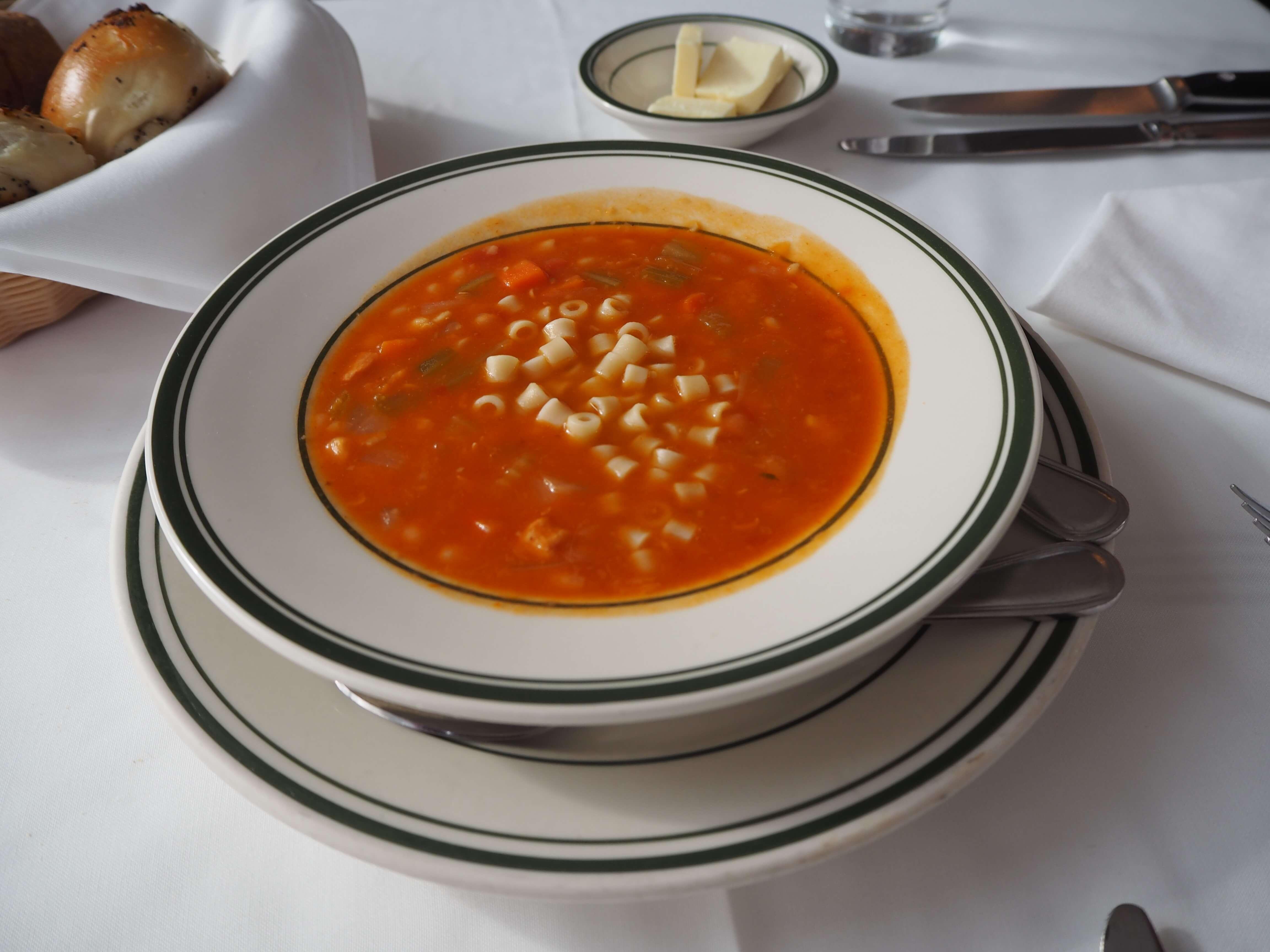 ウルフギャングのスープ